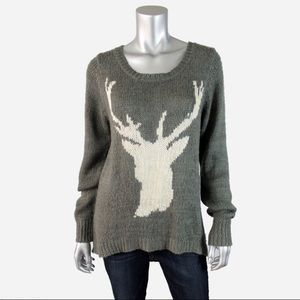 Billabong deer sweater